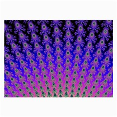Rainbow Fan Glasses Cloth (large, Two Sided) by UROCKtheWorldDesign