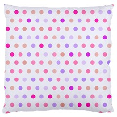 Love Dots Large Cushion Case (two Sided)  by houseofjennifercontests