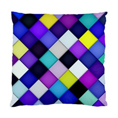 Quilted With Halftone Cushion Case (two Sided)  by houseofjennifercontests