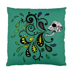 Skull Scream Cushion Case (single Sided)  by Contest1871380