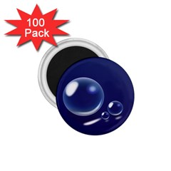 Bubbles 7 1 75  Button Magnet (100 Pack) by NickGreenaway