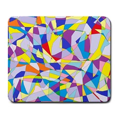 Fractured Facade Large Mouse Pad (rectangle)