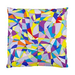 Fractured Facade Cushion Case (two Sided)
