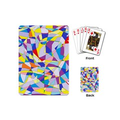 Fractured Facade Playing Cards (mini) by StuffOrSomething
