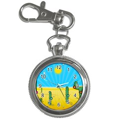 Cactus Key Chain Watch by NickGreenaway