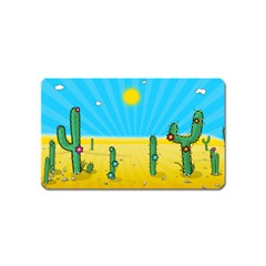 Cactus Magnet (name Card) by NickGreenaway