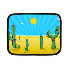 Cactus Netbook Sleeve (small) by NickGreenaway