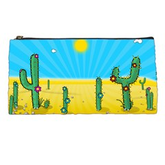 Cactus Pencil Case by NickGreenaway