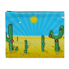 Cactus Cosmetic Bag (xl) by NickGreenaway