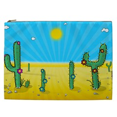 Cactus Cosmetic Bag (xxl) by NickGreenaway