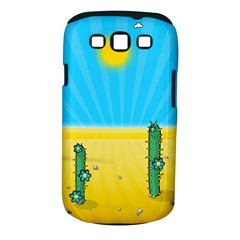 Cactus Samsung Galaxy S Iii Classic Hardshell Case (pc+silicone) by NickGreenaway
