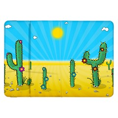 Cactus Samsung Galaxy Tab 8 9  P7300 Flip Case by NickGreenaway