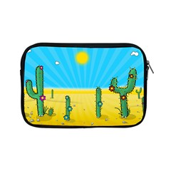 Cactus Apple Ipad Mini Zippered Sleeve by NickGreenaway