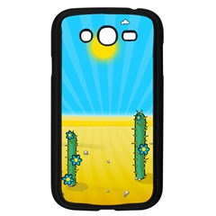 Cactus Samsung Galaxy Grand Duos I9082 Case (black) by NickGreenaway