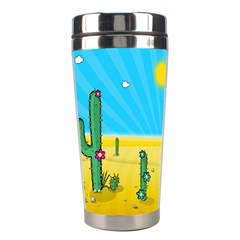Cactus Stainless Steel Travel Tumbler by NickGreenaway