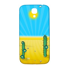 Cactus Samsung Galaxy S4 I9500/i9505  Hardshell Back Case by NickGreenaway