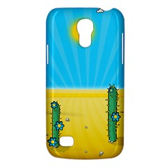 Cactus Samsung Galaxy S4 Mini (gt I9190) Hardshell Case  by NickGreenaway