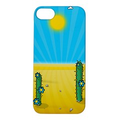 Cactus Apple Iphone 5s Hardshell Case by NickGreenaway