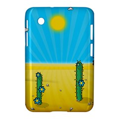 Cactus Samsung Galaxy Tab 2 (7 ) P3100 Hardshell Case  by NickGreenaway