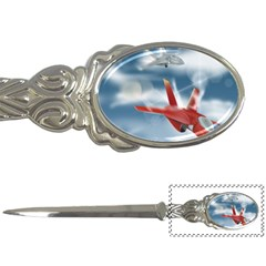 America Jet Fighter Air Force Letter Opener
