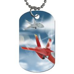 America Jet Fighter Air Force Dog Tag (two Sided)