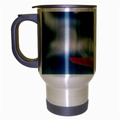 America Jet Fighter Air Force Travel Mug (silver Gray) by NickGreenaway