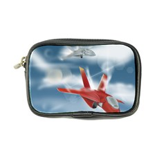 America Jet Fighter Air Force Coin Purse by NickGreenaway