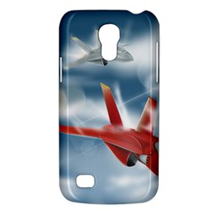 America Jet Fighter Air Force Samsung Galaxy S4 Mini (gt I9190) Hardshell Case  by NickGreenaway