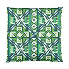 Green Pattern Cushion Case (two Sided)