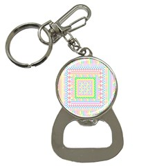 Layered Pastels Bottle Opener Key Chain by StuffOrSomething