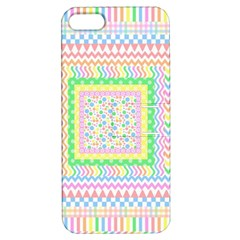 Layered Pastels Apple Iphone 5 Hardshell Case With Stand by StuffOrSomething