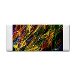 Colourful Flames  Hand Towel by Colorfulart23