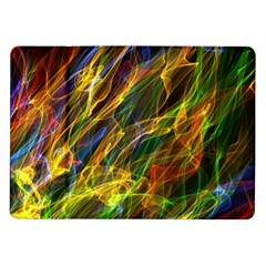 Colourful Flames  Samsung Galaxy Tab 10 1  P7500 Flip Case by Colorfulart23