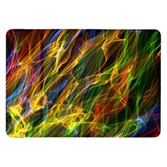 Colourful Flames  Samsung Galaxy Tab 8 9  P7300 Flip Case by Colorfulart23