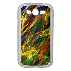 Colourful Flames  Samsung Galaxy Grand Duos I9082 Case (white)