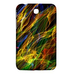 Colourful Flames  Samsung Galaxy Tab 3 (7 ) P3200 Hardshell Case  by Colorfulart23