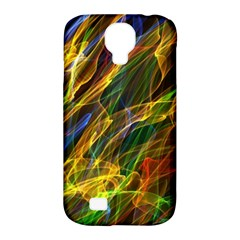 Colourful Flames  Samsung Galaxy S4 Classic Hardshell Case (pc+silicone)