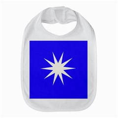Deep Blue And White Star Bib