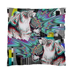 Lioness Glitch Cushion Case (two Sided)  by Contest1831200
