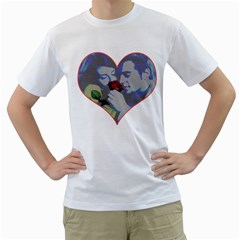 Lovers Men s T Shirt (white)
