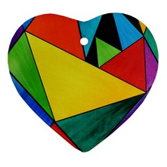 Abstract Heart Ornament (two Sides) by Siebenhuehner
