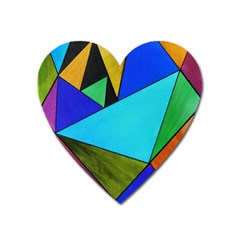 Abstract Magnet (heart) by Siebenhuehner