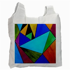 Abstract Recycle Bag (one Side) by Siebenhuehner