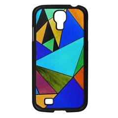 Abstract Samsung Galaxy S4 I9500/ I9505 Case (black) by Siebenhuehner