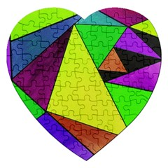 Abstract Jigsaw Puzzle (heart) by Siebenhuehner