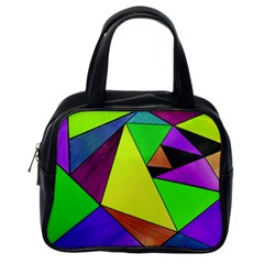 Abstract Classic Handbag (one Side) by Siebenhuehner