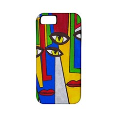 Face Apple Iphone 5 Classic Hardshell Case (pc+silicone) by Siebenhuehner