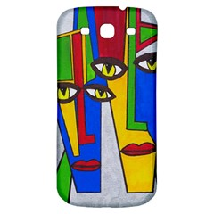 Face Samsung Galaxy S3 S Iii Classic Hardshell Back Case by Siebenhuehner