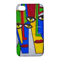 Face Apple Iphone 4/4s Hardshell Case With Stand by Siebenhuehner