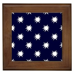 Bursting In Air Framed Ceramic Tile